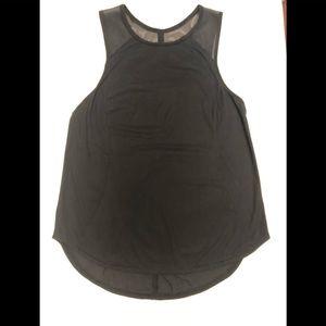 Lululemon Black Tank Size 6